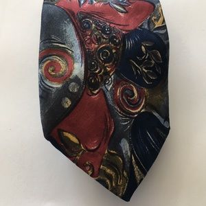 Passenger International Tie with art like pattern